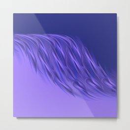 Rocking purple Metal Print