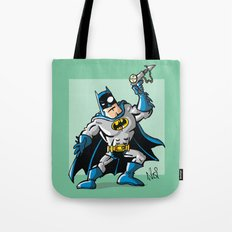 Another Strong man in a super hero costume Tote Bag