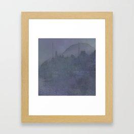 PORT BEYOND Framed Art Print
