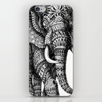 bioworkz iPhone & iPod Skins featuring Ornate Elephant v.2 by BIOWORKZ