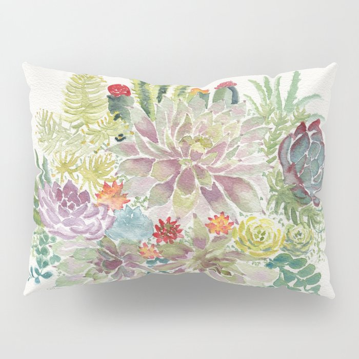 Succulents Pillow Sham
