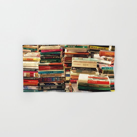 Books Hand & Bath Towel