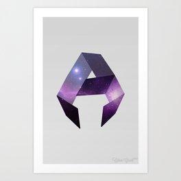 Abstract Galaxy  Art Print