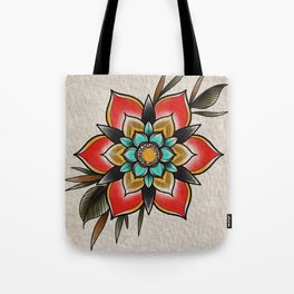 The flowers that be Tote Bag