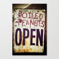 peanuts Canvas Prints featuring Peanuts by BrandonAddisArt