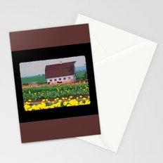 Barn at Mt Angel Tulip Farm Stationery Cards