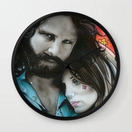 'Mr. Mojo Risin' And Pam' Wall Clock