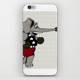 Boxing Elephant iPhone Skin