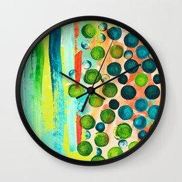 Funky Flavors Wall Clock