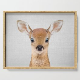 Baby Deer - Colorful Serving Tray