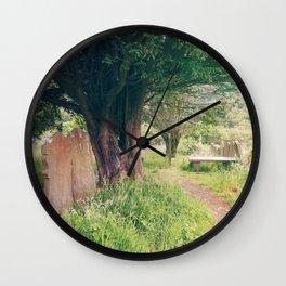 Ruins In Ireland Wall Clock