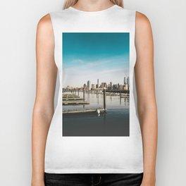 Silent City View - NYC Biker Tank