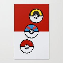 Poke Balls Canvas Print