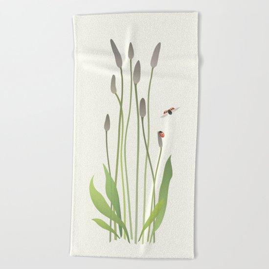 Ladybird Date Beach Towel