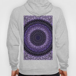 Purple Tapestry Mandala Hoody