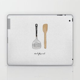 Don't Flip Out, Kitchen Wall Art Laptop & iPad Skin