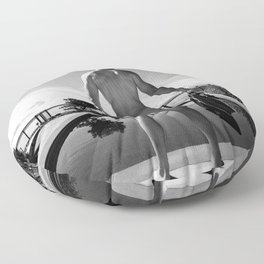 Swim Naked Floor Pillow