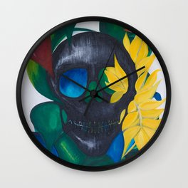 Scary is Beautiful Wall Clock