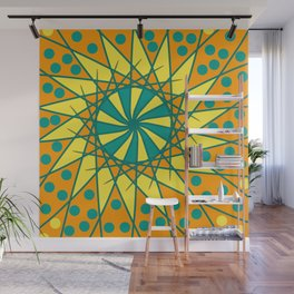 Colored Doodle Wall Mural