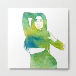 Nicki  Metal Print