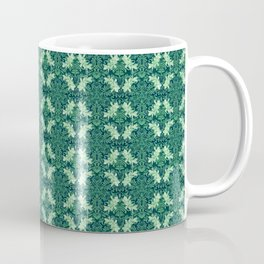 Nano Royal Floral Mandala Print Coffee Mug