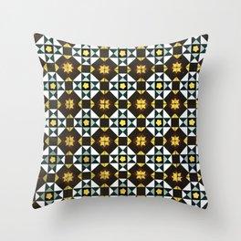 Floor Series: Peranakan Tiles 18 Throw Pillow