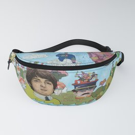 Lonely Hearts, Rubber Soul & Magical Yellow Submarine Tour Fanny Pack