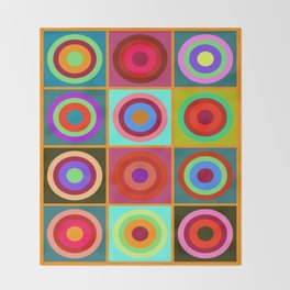 Kandinsky #20 Throw Blanket