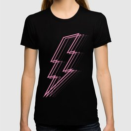 Pink Lightning Bolt T-shirt