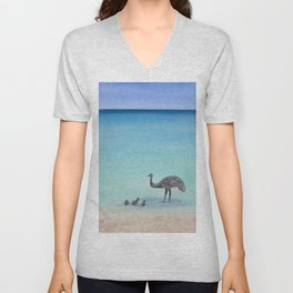 Surfin' Bird Unisex V-Neck