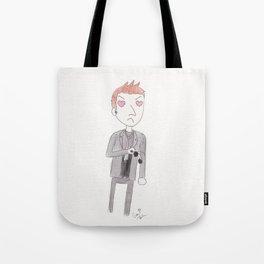 Heart-Eyes Crowley Tote Bag
