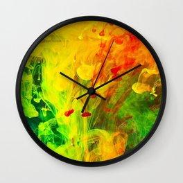 Polish Fountain Wall Clock