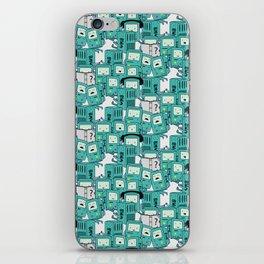 BMO patterns iPhone Skin