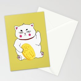 Maneki-nope Stationery Cards