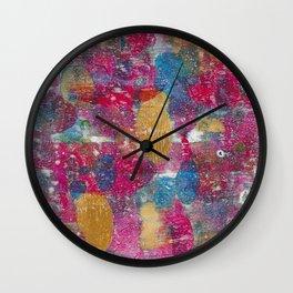 Vivid Colors Wall Clock