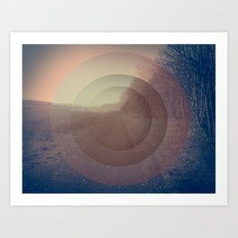 When everything fades Art Print