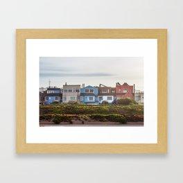 The Sunset District Framed Art Print