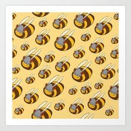 Viking bee Art Print