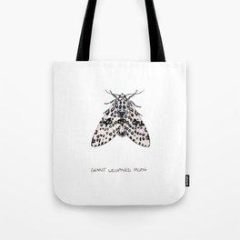 Giant Leoprd Moth Tote Bag