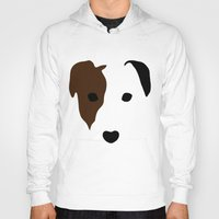 terrier Hoodies featuring Russell Terrier by Dizzy Moments
