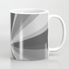 Monochrome Starburst Coffee Mug