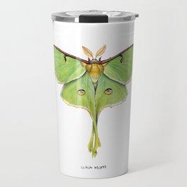 Luna Moth (Actias luna) II Travel Mug