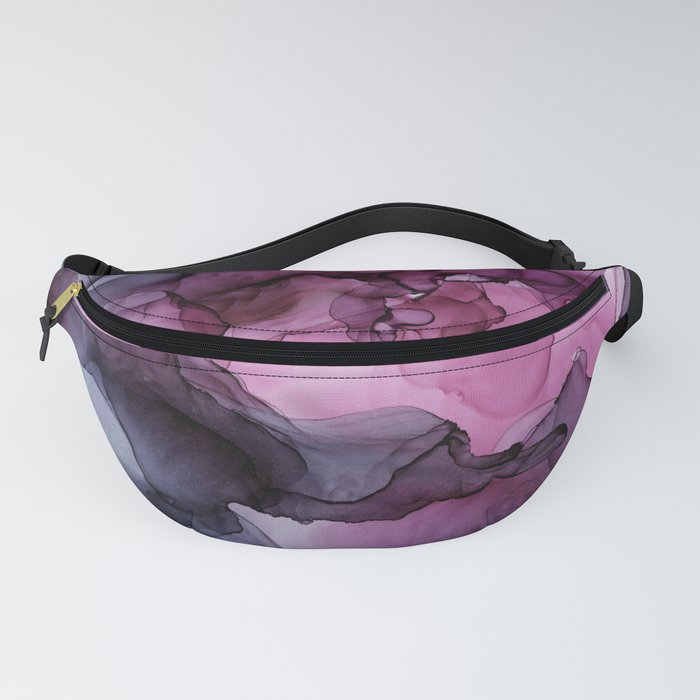 Abstract Ink Painting Ethereal Flowing Watercolor Nebula Fanny Pack