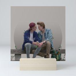 LOVE, EVAK. (light version) Mini Art Print