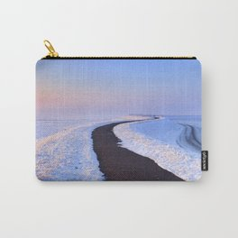 I - Lake and dike at sunrise in winter in The Netherlands Carry-All Pouch