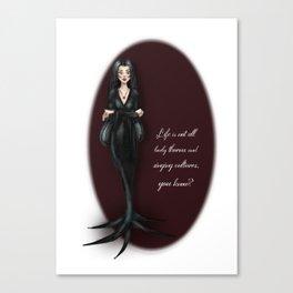 Morticia Canvas Print