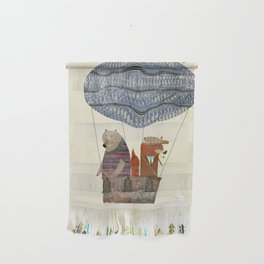 fox and bears wondrous adventure Wall Hanging