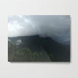 HAWAIIAN MOUNTAINS Metal Print