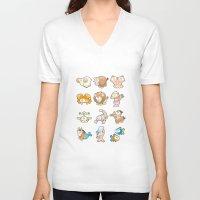 zodiac V-neck T-shirts featuring Funny Zodiac. by Danilo Sanino
