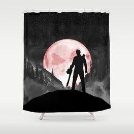 Rudeboy Ash Shower Curtain